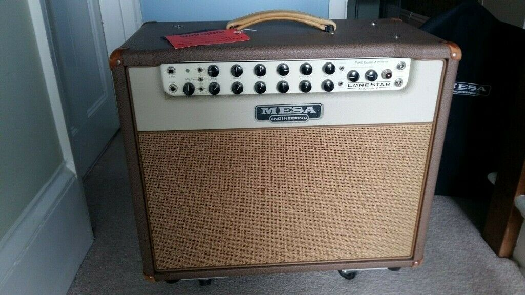 Mesa Boogie Lone Star Special combo 1x12 with Pvc Cover & 3 channel foot  switch | in Portland, Dorset | Gumtree