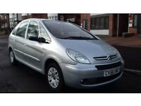 2006 CITROEN XSARA PICASSO FULL STAMPED SERVIVE HISTORY