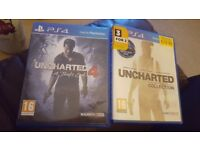 Uncharted collection 1-4 ps4