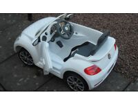 CHILDS ELECTRIC VW BEETLE CAR