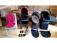 Oyster 2 Pushchair Pram Stroller And Raincover Bargain