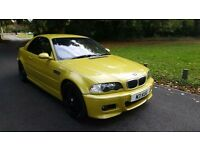 Phoenix Gold M3 Convertible with hardtop - Sat Nav, full service history, private plate included.