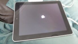 Working i pad 1st gen 64 GB , blemish on screen