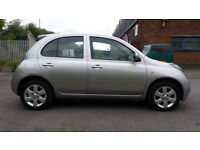 Nissan Micra 1.5 DCI Diesel 5 door Silver SX Alloy wheels £30 road tax P/X to clear