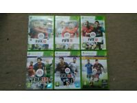 XBOX 360 FIFA Games