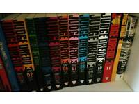 Judge Dredd Case Files Volumes 1 to 12