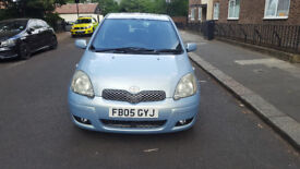 2005 toyota yaris 1.3 blue 5dr hatchback AUTO petrol MOT April2019 full service history 2keys