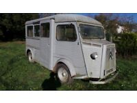 Original Classic French Citroen HY - H Van 1965 Ideal Restoration Project Type HY72