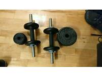 York metal dumbbell £15