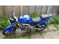 Suzuki sv650s 2003 650cc motorbike