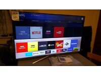 "SAMSUNG 49"" Smart 4K UHD HDR LED TV-UE49KU6400,built in Wifi,Freeview,Excellent condition"