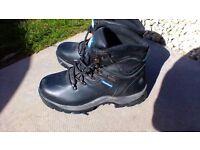 Steel toe work boots 6