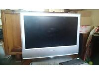 """Sony Bravia 20"""" widescreen LCD TV/ pc monitor (Terrestial only not Freeview)"""