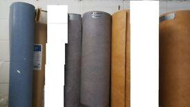 Joblot of vinyl/lino flooring