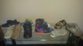 Boy's shoe and boot bundle size 9 & 10