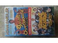Going overboard and combat academy vhs video