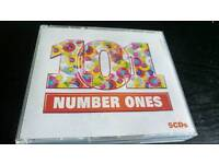 101 NUMBER ONES..5 CDS BOX SET NEW.