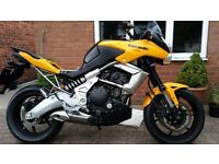 VERY LOW MILEAGE 2010 VERSYS 650
