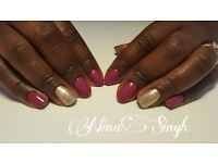 SHELLAC nails for just £10 Manicure Pedicure