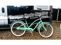 🚲 Electra Hawiaa 3 Speed Ladies Beach Cruiser Bike - Fully Serviced