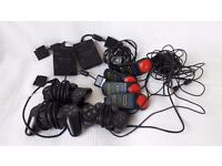 Playstation 2 controllers bundle