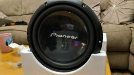 """Brand new Pioneer 10"""" Subwoofer TS-W260S4"""