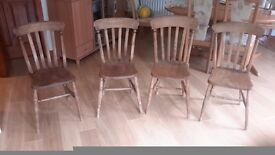 VICTORIAN STICK BACK CHAIRS GUILDFORD