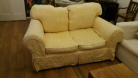 Comfy 2 seater sofa with 2 sets of washable covers
