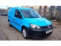 Finance- £130 P/M VW- Volkswagen Caddy Maxi Van C20 102TDi -Air Con- 1 Owner X BGas 46K FSH- 1YR MOT