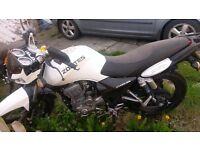 White 125cc cheap to run and insure great bike