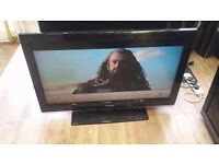 """Samsung 40"""" Full HD 1080p Freeview LCD TV £100"""