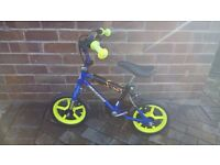 """Thunder 12"""" boy's """"strider"""" bike - used, but not abused"""