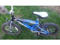 """boys children bike bicycle Action Man will suit 5-8 years old 16"""" wheels"""