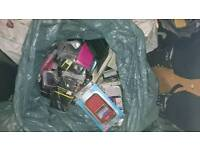 3 full bags of mobile phone covers
