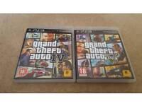 PS3 GTA 4&5