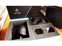 HTC Vive - Fully Boxed VR Headset and Controllers. Great condition.
