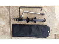 1998 Toyota Avensis jack and wheel brace in original bag.