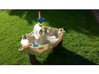 Little tikes water play pirate ship