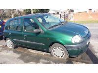 Renault Clio Grande 2001-spares or repair