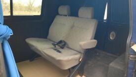Volkswagon Transporter T4 quick release, rear passenger seat