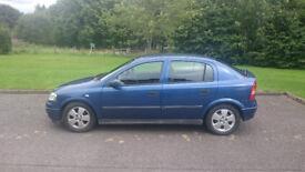 Vauxhall Astra 1.6 16v Comfort 2002 5 door hatchback