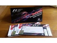 F1 tickets Race Day