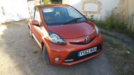 2012 TOYOTA AYGO VVT-I FIRE AC ONLY VERY LOW MILEAGE ONLY 19K MILES!! FSH