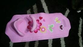 Baby bath seat and mat