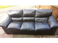 3 seater Natuzzi leather sofa UNUSED