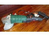 New Boxed Unused Parkside Angle Grinder 1200W + Original Receipt = 3 Years Guarantee