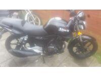 2014 - KSR MOTO WORX 125cc Motorbike (LearnerLegal Bikes)