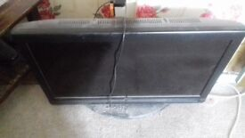 Tv in used condition no remote and the on and of button dont work