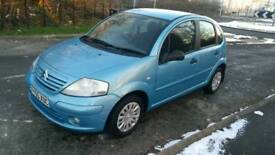 2005 Citroen C3 1.4 hdi diesel £30/year road tax full mot,with service history