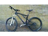 Bike full suspension Bicycle Santa Cruz Blur with quality parts
